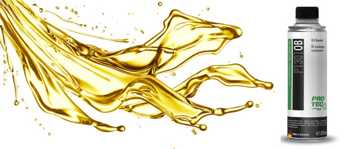 Oil Booster – Aumento de Viscosidade do Óleo